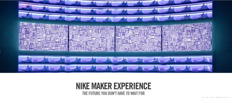 Nike Maker Experience is a new-generation customization program based on AI data