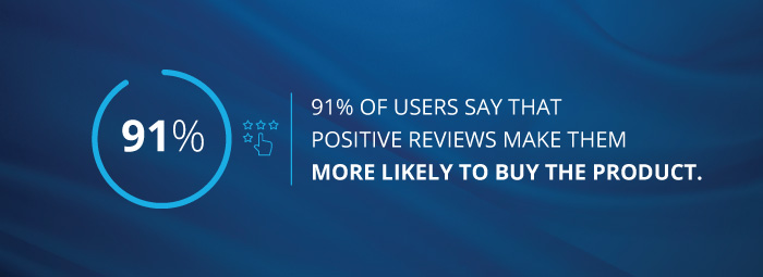 food and beverage - the importance of positive reviews