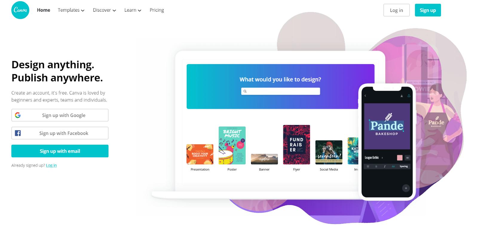 canva - tech brand digital marketing