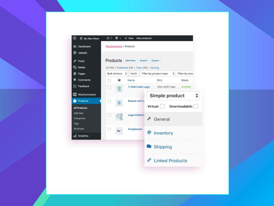 Responsive web design: Screenshot of WooCommerce Set up Store