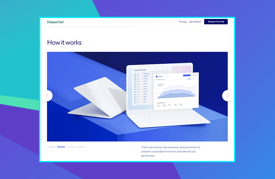 Dialpad product page