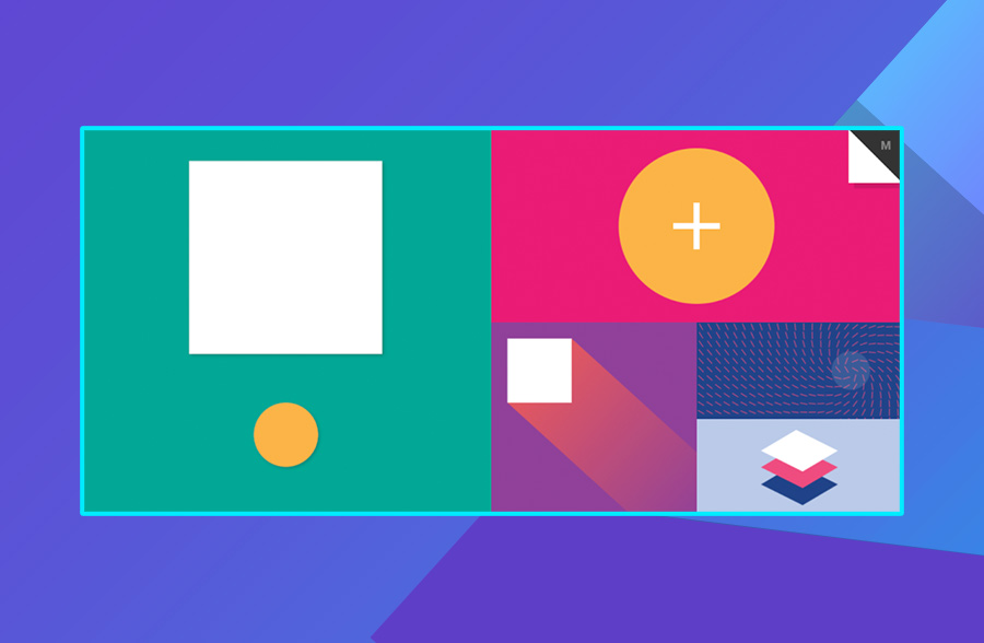 Modern website design: Material Interactivity's use of color