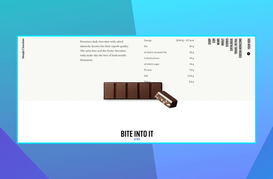 Simply Chocolate CTA