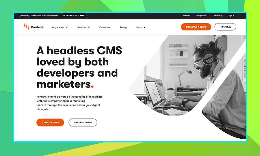 Kentico Kontent Headless CMS