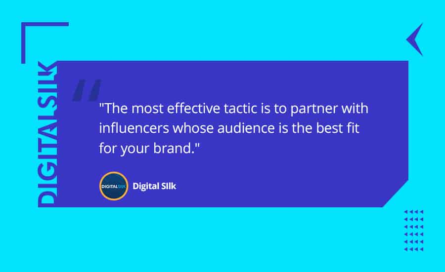 A quote from the article to emphasize the most effective tactic of affiliate marketing and Influencer marketing