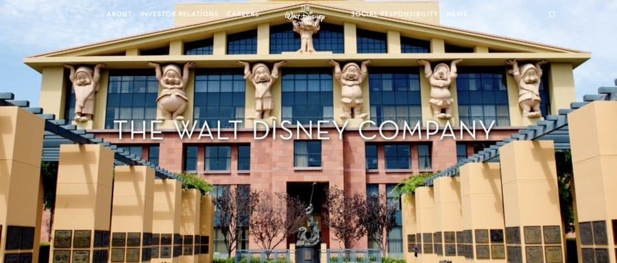 Corporate branding example: Disney