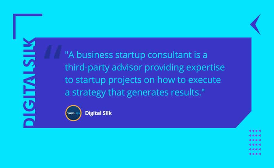 What is a business startup consultant?