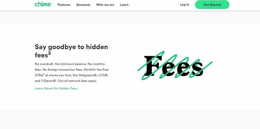 bank web design sticky menu