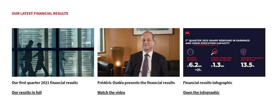 bank web design CTAs