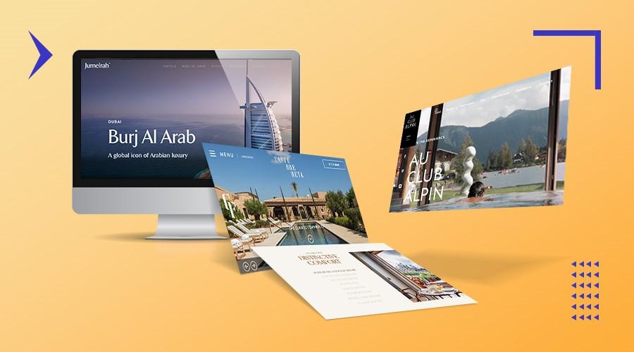 Hotel web design featured image